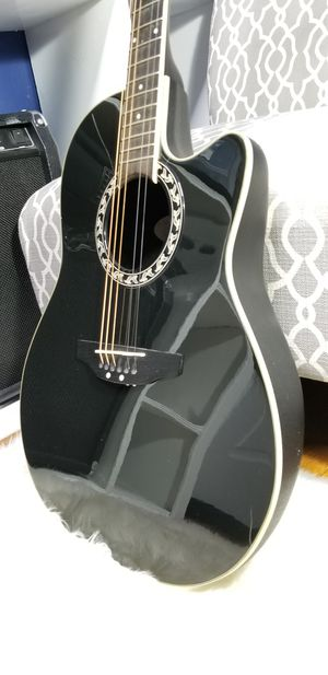 Applause by Ovation AE128 - Acoustic-Electric Guitar - Black for Sale in Rockville, MD