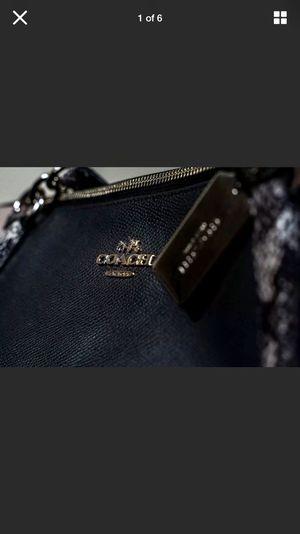 COACH Ava Tote Crossgrain Leather Handbag-Snake Skin for Sale in Washington, DC