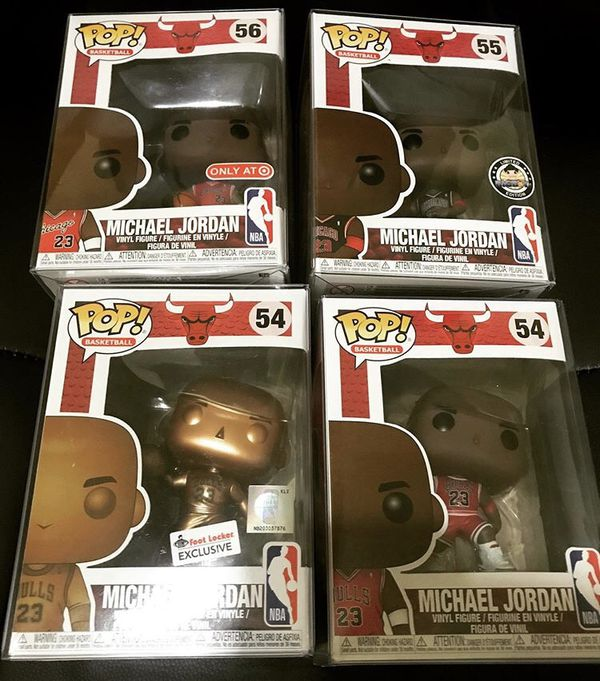 Michael Jordan Pop ( complete set)