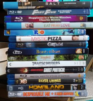 15 Bulk Blu-ray DVDs nice collection. for Sale in Queens, NY