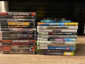 PS2 games, Xbox games, Wii games for Sale in Chula Vista, CA
