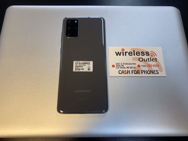 Galaxy S20 Plus Factory Unlocked. Financing Available.