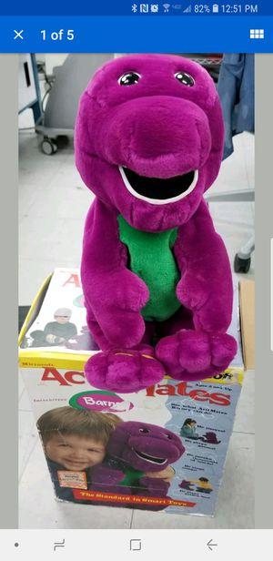 Microsoft Actimates Interactive Barney- Talks, Sings, Moves!! for Sale in Santa Ana, CA