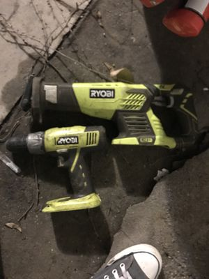 Ryobi Drill and Saws All for Sale in Los Angeles, CA
