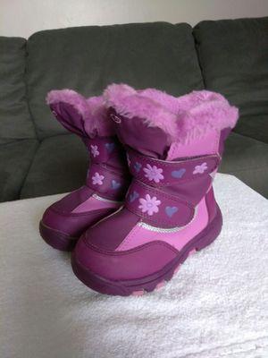 Girls snow boots size 10 for Sale in Pontiac, MI