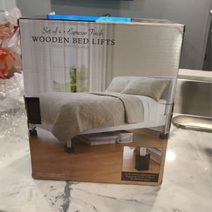 Wooden Bed Lifts (3) for Sale in Spring Valley, CA