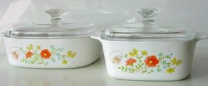 Vintage Wildflower Pyrex Corning Ware 1 and 2 quart for Sale in Virginia Beach, VA
