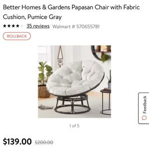 Better home and garden chair !!! for Sale in Huntington Park, CA