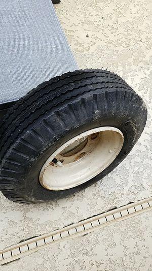 Trailer rim and tire for Sale in Alpharetta, GA