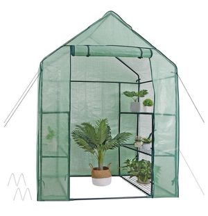 3 Tier 6 Shelves Movable Plant Greenhouse Planter for Sale in Corona, CA