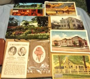 Antique and vintage postcard set with sewing pack for Sale in Albuquerque, NM