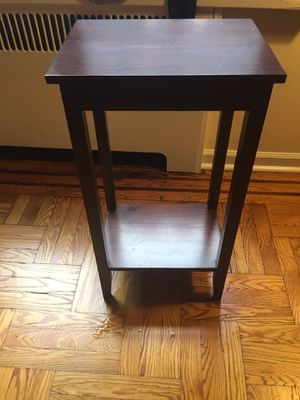 Rosewood tall end table for Sale in New York, NY