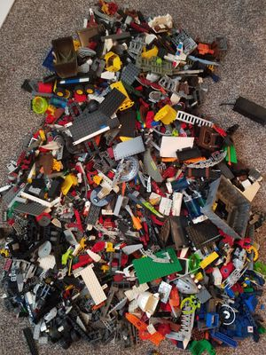 Legos Lot Two tubs Over 40 pounds for Sale in Philadelphia, PA