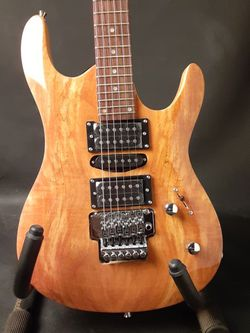 Gitano Electric Guitar Spalted Maple top for Sale in Santa Ana,  CA
