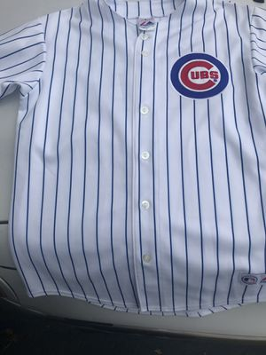 Carlos Zambrano Chicago Cubs Baseball Jersey Sewn logo's, name, numbers Youth kids XL for Sale in IL, US