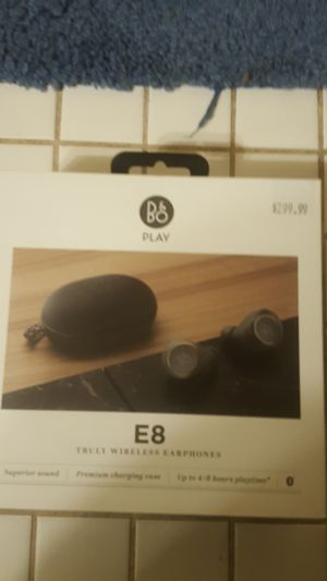 B&O E8 Wireless ear buds for Sale in Washington, DC