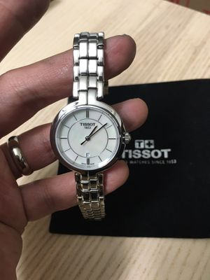 "Tissot ""Flamingo"" Mother of Pearl Dial women's watch (Retails $415) for Sale in Plano, TX"