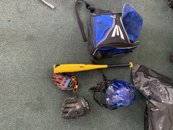 Youth small baseball set