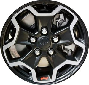 """Jeep Gladiator Rubicon 2020 wheels (set of 4) 17"""" for Sale in San Diego, CA"""