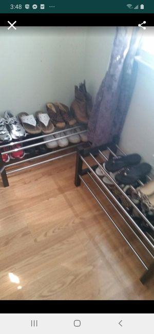 IKEA TWO SHOES RACKS for Sale in Fairfax, VA
