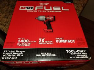 Milwaukee Fuel Brushless impact wrench brand new in box (TOOL ONLY) for Sale in Winter Springs, FL