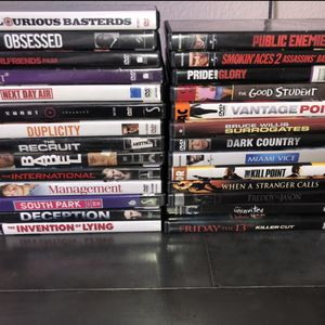New 27 movies from HOLLYWOOD VIDEO for only $55 for Sale in Castro Valley, CA
