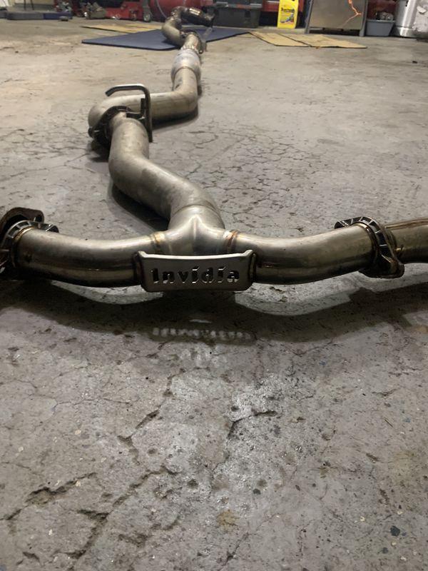 Invida exhaust WRX