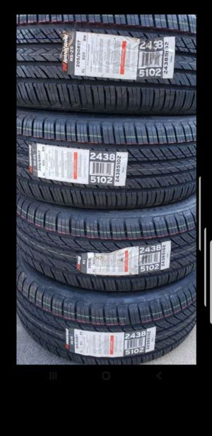 4 New 205-50-17 Nankang NS25 205/50/17 inch tire for Sale in March Air Reserve Base, CA