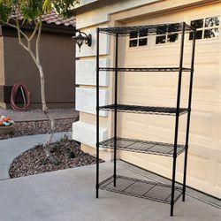 6 Foot Tall! 18 Deep 3 Ft Wide Strong Wire Bakers Rack Shelf Shelves Shelving for Sale in Buckeye,  AZ