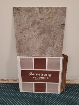 """NEW!! Box of """"ARMSTRONG"""" FLOOR TILES (total of 24.89 Sq. Ft.) - firm price. for Sale in Arlington, VA"""
