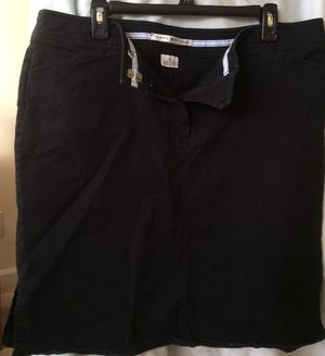 Tommy Hilfiger Black pencil skirt Size: 16 for Sale in Alexandria, VA
