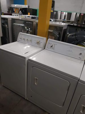Top load washer and dryer set working perfectly for Sale in Baltimore, MD