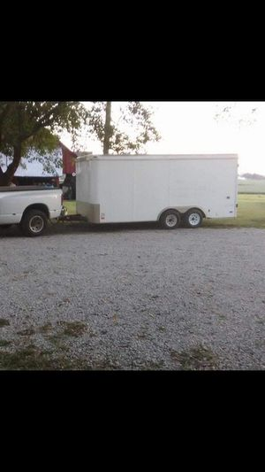 8 x 16 trailer enclosed 2003 pace american for Sale in Lombard, IL