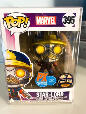 Funko Pop Star-Lord PX Previews Exclusive for Sale in Orange, CA