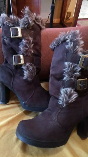 No Boundaries Phylicia Fur Boots for Sale in Spring Valley, CA