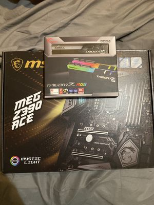MSI Z390 Ace and G Skill Trident Z RGB for Sale in Abilene, TX