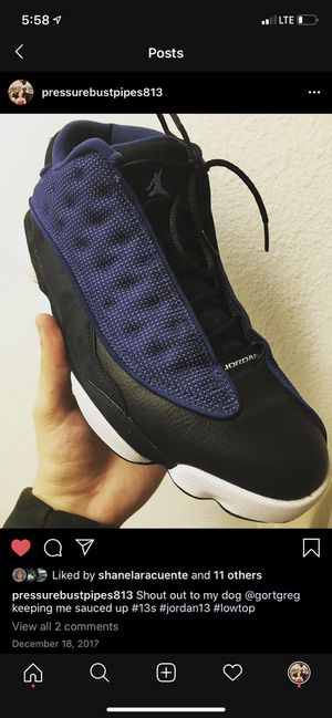 Air Jordan 13 Retro Low 'Brave Blue' size 11 $100 OBO for Sale in Oldsmar, FL