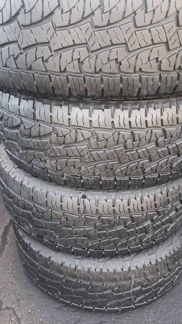 275/60/20 full set of 4nexen tires