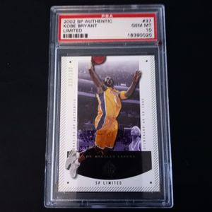 2002SP Authentic Kobe Bryant limited Edition Gem Mint 10 for Sale in Torrance, CA