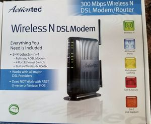 300 mbps wireless modem/router for Sale in West Springfield, VA