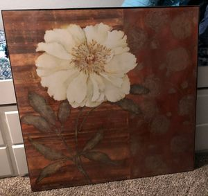 Large pier one decor picture for Sale in Broken Arrow, OK