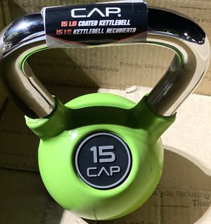 15lb Rubber Coated Kettlebell for Sale in Torrance, CA