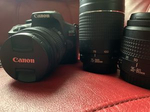 Canon rebel t6 and lenses for Sale in Arlington, VA