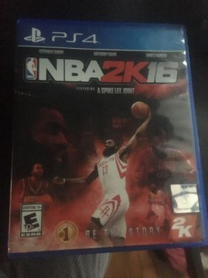 NBA 2K 16 for Sale in Silver Spring, MD