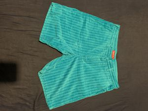 Supreme Rope Corduroy Shorts Blue for Sale in Miami, FL