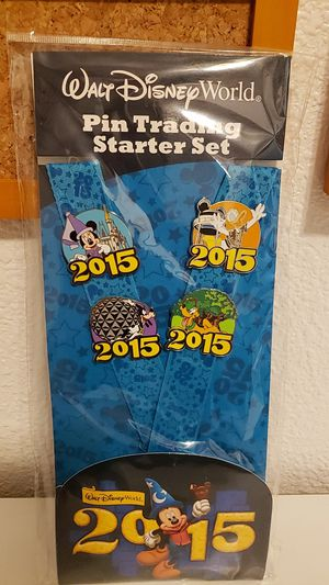 $15 Disney World trading pin set for Sale in Manteca, CA