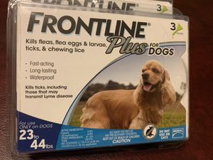 Protect your pet for 8 months Frontline plus for dogs for Sale in Nuevo, CA