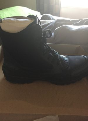 Kenneth Cole size 12 men boots, Worn once for Sale in Laurel, MD