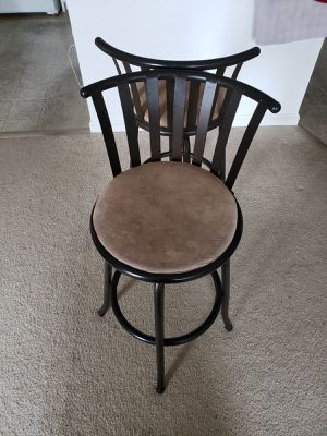 Pair of rolling breakfast chairs on sale for Sale in Herndon, VA