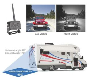 Wireless Car Backup Camera for Trucks, Rv, Trailers and Campers, WiFi Backup Camera for Sale in Garden Grove, CA